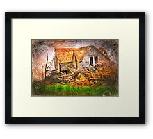 After The Wind Stops Framed Print