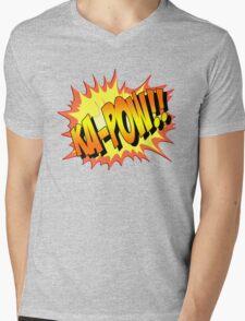 Ka-POW Mens V-Neck T-Shirt