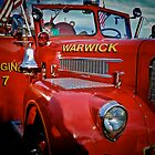 The Big Red Fire Engine 7 - Warwick Rhode Island by Jack McCabe