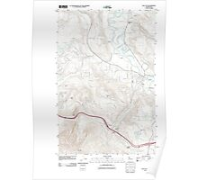 USGS Topo Map Washington State WA Fall City 20110505 TM Poster
