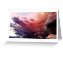 Dark Bold Artistic Cloudscape - Cards Greeting Card