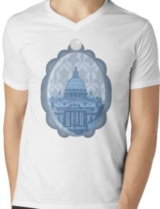 Vatican Cameo Mens V-Neck T-Shirt