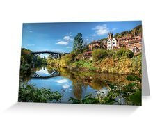 Iron Bridge 1779 Greeting Card