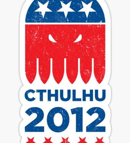 Vintage CTHULHU 2012 Sticker
