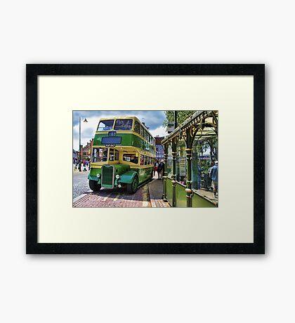 Southdown Bus Framed Print