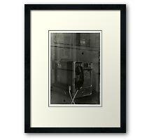 Line One Framed Print
