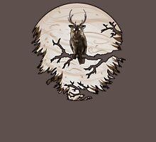 Antler Owl Unisex T-Shirt