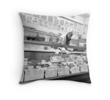 barras butcher Throw Pillow