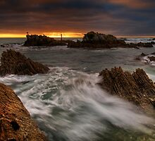 Kaikoura Storm Breach by Ken Wright