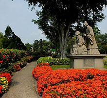 Chinese Gardens     Singapore by sandysartstudio