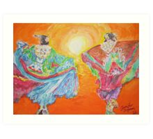 Spirit Dancers Art Print