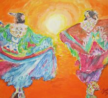 Spirit Dancers by Jennifer Ingram