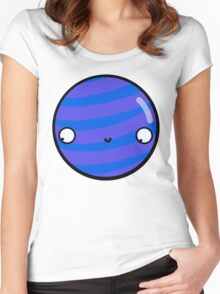 Neptune - Sticker Women's Fitted Scoop T-Shirt