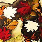 Autumn in Water III by Barbora  Urbankova