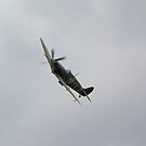Spitfire Mk 5 by John Dunbar