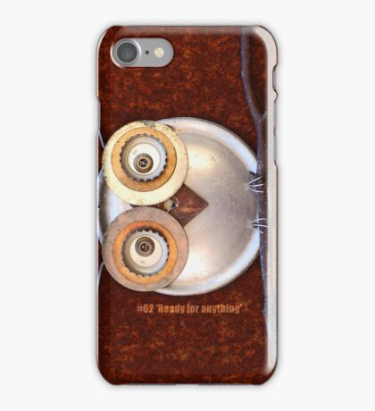#62 Ready for anything (sml) -- iPod/iPhone cover case iPhone Case/Skin
