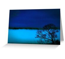 Shrouded Valley Greeting Card