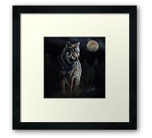 Hunter's Moon  Framed Print