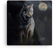 Hunter's Moon  Metal Print