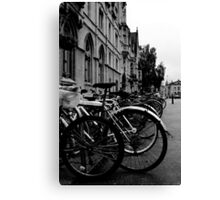 Broad Street, Oxford - Bicycles Canvas Print