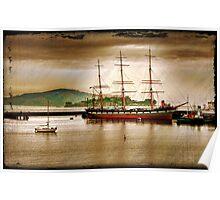 Ship San Francisco Poster
