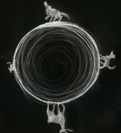 Inverted Marauders Moon Sticker