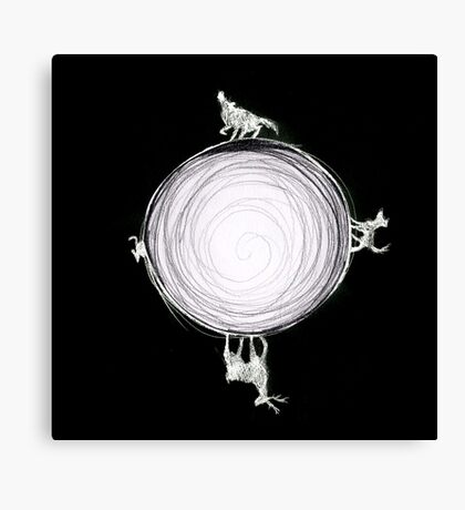 Inverted Marauders Moon Canvas Print