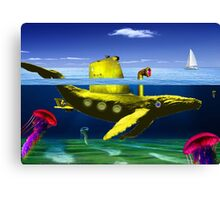 Yellow submarine Canvas Print