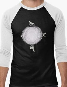 Inverted Marauders Moon Men's Baseball ¾ T-Shirt