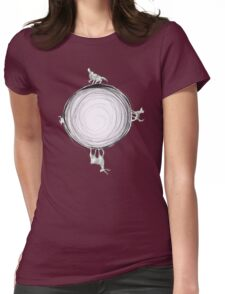 Inverted Marauders Moon Womens Fitted T-Shirt