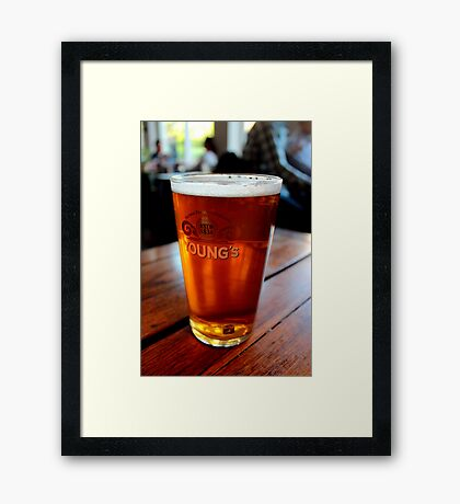 Youngs' Jubilee Ale Framed Print