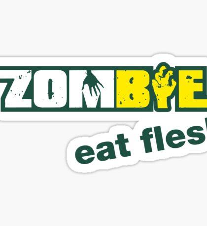 Subway Zombie - Eat Flesh Sticker
