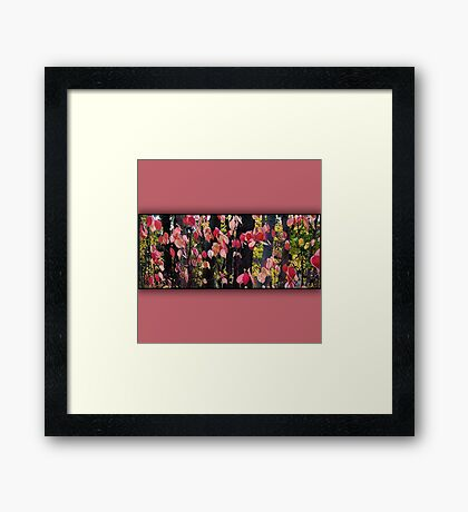 Autumn motif Framed Print