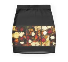 Autumn in Water -tryptich Mini Skirt