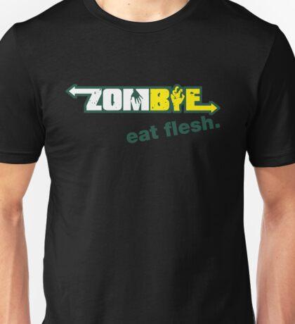Subway Zombie - Eat Flesh Unisex T-Shirt