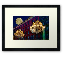 Street Lights Framed Print