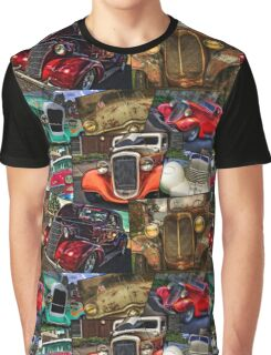 Classic Car Heaven And Two Beaters Graphic T-Shirt