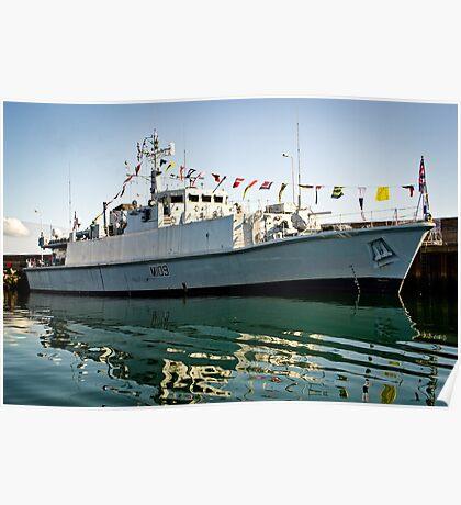 HMS Bangor Poster