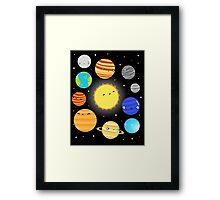 The Solar System Framed Print