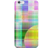 Fading Shapes in Pastel Colours iPhone Case/Skin
