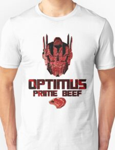 Optimus Prime Beef T-Shirt