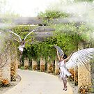 Angels Under the Arbor by Rosalie Scanlon