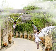 Angels Under the Arbor by Rosalie Scanlon