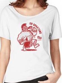 GO SPARTANS! Women's Relaxed Fit T-Shirt