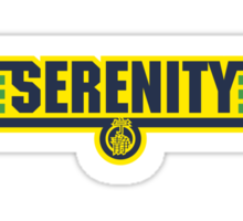 Serenity - Independence colours Sticker
