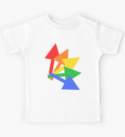 Rainbow arrows Kids Tee