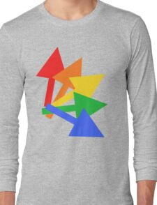 Rainbow arrows Long Sleeve T-Shirt