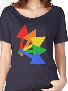 Rainbow arrows Women's Relaxed Fit T-Shirt