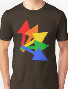 Rainbow arrows Unisex T-Shirt