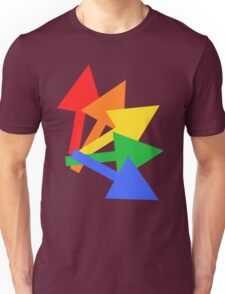 Rainbow arrows Unisex T-Shirt